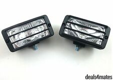 "UNIVERSAL 12v CAR SUV 4X4 OFFROAD CLEAR FOG SPOT LIGHTS LAMPS 5.83""x2.95"" E-MARK"