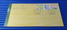 1995 Singapore First Day Cover '95 Orchids Series Commemorative Stamp Issue 1992