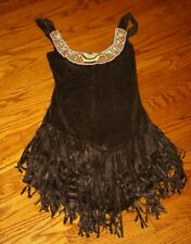 POCAHONTAS indian costume fringe beaded women's size S small