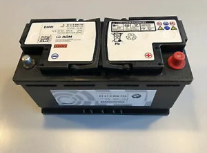 Genuine BMW Original AGM-Battery 92Ah For Start-Stop Systems 61216806755