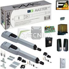 Kit automazione ante battenti FAAC MASTER KIT 104415445 professionale anta 3mt