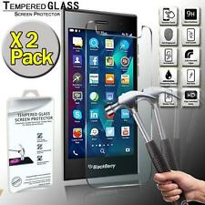 2 Pack Real Tempered Glass Screen Protector Cover For BlackBerry Leap