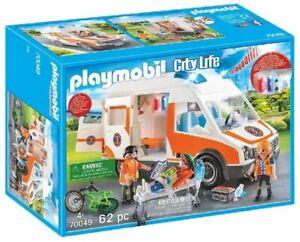 Playmobil - Ambulance et Secouristes - 70049 Coloré