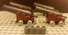 LEGO NEW 4x COMPLETE Cannons For Black Pearl 4184 And Queen Anne's Revenge 4195