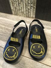 New Mini Melissa Matte Black Nirvana Size 10
