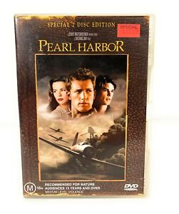 Pearl Harbor Special Edition (DVD, 2001, 2-Disc Set) Ben Affleck R4 Free Postage