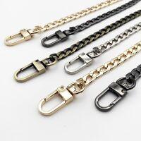 Leather Shoulder Bag Handbag Purse Chain Strap Handle Replacement Double Clasp