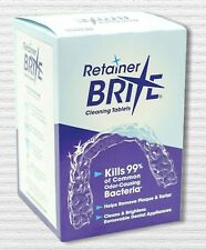 Retainer Brite Cleaning Tablets By Dentsply Sirona 120 Tablets 4 Months Supply