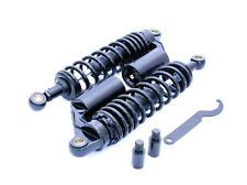 TEC Adjustable Length Gas Shock Absorbers - All Black - Triumph Thruxton