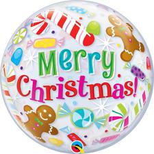 Christmas Bonbons & Treats 55.9cm qualatex Ballon Bulle