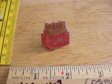 1970s pin tie tac Coca Cola Bottles 338 6 pack Size Liter pin mini vintage HTF