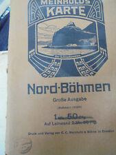 24141 Meinholds Karte von Nord-Böhmen, Maßstab 1 : 75000. Touristen-Karte