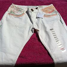 DESIGUAL Pantalon blanc, Pant Turko Tokyo Blanco - Taille / Size 42