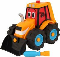 My First JCB Build & Go Digger Truck Building Vehicle Motor Skills Toy Playset