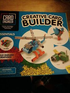New Creative Card Builder BUILD ENDLESS CREATIONS 54 cards + over 140 clips