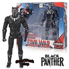 Figura Black Panther Captain America Marvel 17cm Con Caja Figurine