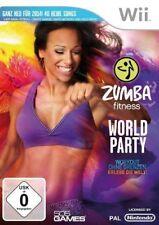 Nintendo Wii + Wii U Zumba Fitness World Party Sans Ceinture Allemand NEUF
