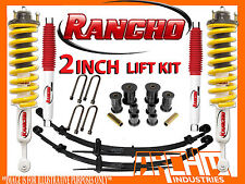 FORD PX RANGER 2011-ON RANCHO & KING SPRING 2INCH SUSPENSION LIFT KIT LIGHT LOAD