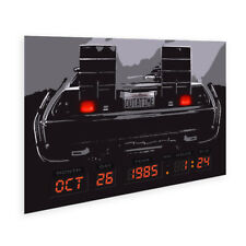 Personalized Back To The Future DMC-12 Wall Art Poster