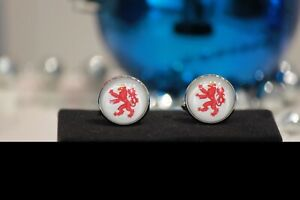 Luxembourg Red Lion Cufflinks