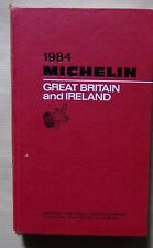 ) guide MICHELIN rouge GREAT BRITAIN AND IRELAND 1984