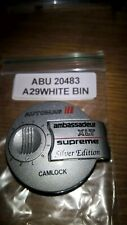 ABU AMBASSADEUR XLT SUPREME SILVER EDITION AUTOMAG BAYONET COMPLETE. REF# 20483.