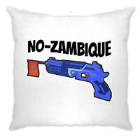 Funny Gaming Cushion Cover Mozambique Shotgun Joke Novelty Online Game