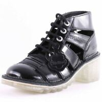 Kickers Kopey Hi Leather Sizes 3-8 Black RRP £85 Brand New Save over 75%