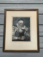 Joseph Margulies, After Morning Prayer, Signed Artist Proof Edition Of 50