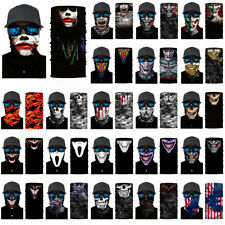 Skull Cycling Motorcycle Head Scarf Neck Warmer Face Mask Ski Balaclava Headband