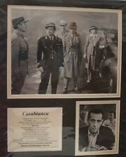 Casablanca Memorabillia     Humphrey Bogart, Ingrid Bergman, Paul Henreid