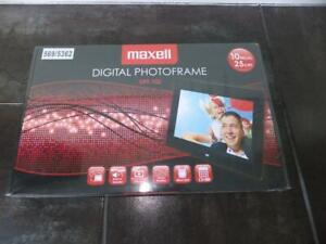 "Maxell 10"" Digital Photo Frame Photoframe DPF102 DPF 102 Calendar & Alarm - NEW"