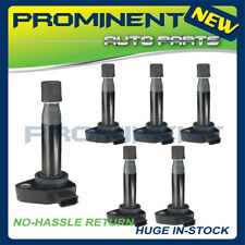 6pcs Ignition Coils UF242 Replacement for 99-10 Acura Honda Accord Odyssey 3.0L