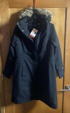Marmot Chelsea Coat Waterproof Hood Parka Jacket Black Size L Large