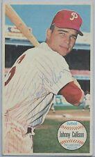 1964 TOPPS GIANTS Johnny Callison Philadelphia Phillies Autograph