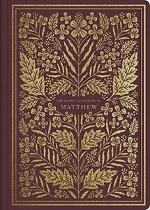 ESV Illuminated Scripture Journal  Matthew