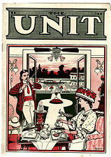 THE UNIT : LIGHT READING ON LIGHT SUBJECTS. home electricity booklet c1908  lo