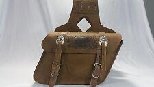 Triumph Scrambler-Thruxton and Bonneville Leather Saddle bags PU42S