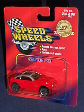 Speed Wheels Series Xii Jeep Jeepster Red & Silver