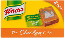KNORR CHICKEN STOCK CUBES 3 X 8 PACK **WILL SEND WORLDWIDE**