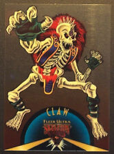 1995 Skeleton Warriors Suspended Animation Card #9 Claw
