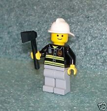 L10022     FIREMAN with AX     LEGO minifig  ** NEW **