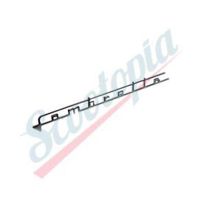 Scootopia Lambretta LI TV  Small Lambretta Legshield Badge Script E9.4