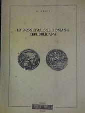 catalogo La monetazione romana repubblicana G. Fenti