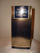 Original Guerlain SHALIMAR SILKY BODY LOTION  200ml / 6.8fl oz With Box
