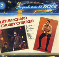 DISCO 33 GIRI La grande storia del rock n. 2 LITTLE RICHARD - CHUBBY CHECHER (C)
