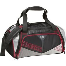 OGIO 2.0 Duffel Bag Carrying Case Black Red Silver New with Tags