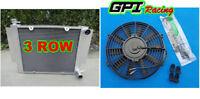 All Aluminium radiator +fan Mazda RX2 RX3 RX4 RX5 56mm Core