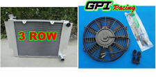 Radiatore +FAN FOR MAZDA RX2 RX3 RX4 RX5 69-83 MT S1 S2 WITH HEATER PIPE