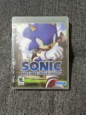 Sonic the Hedgehog (Sony PlayStation 3 Ps3 2006) Tested and working.